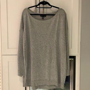 Love & Legend Long Grey Knit Tunic